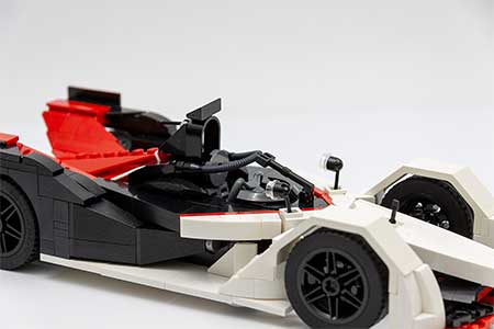 2019 LEGO® Porsche 99X Electric - Angled, Detail